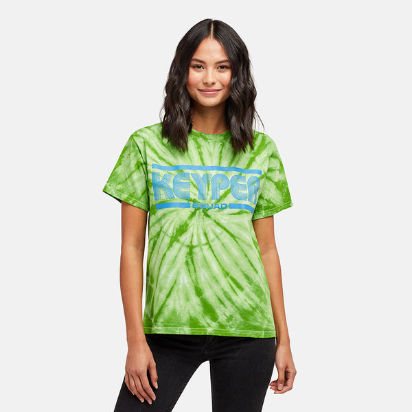 GIRLS SQUAD GREEN TIE DYE TEE