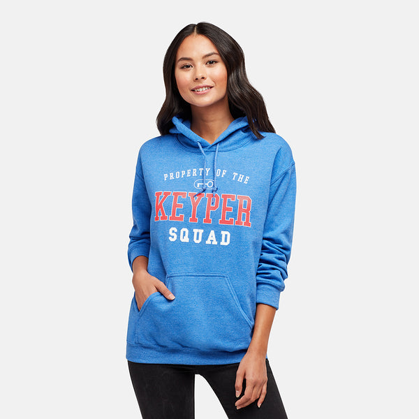 GIRLS KS PROPERTY HEATHER ROYAL PULLOVER HOODIE