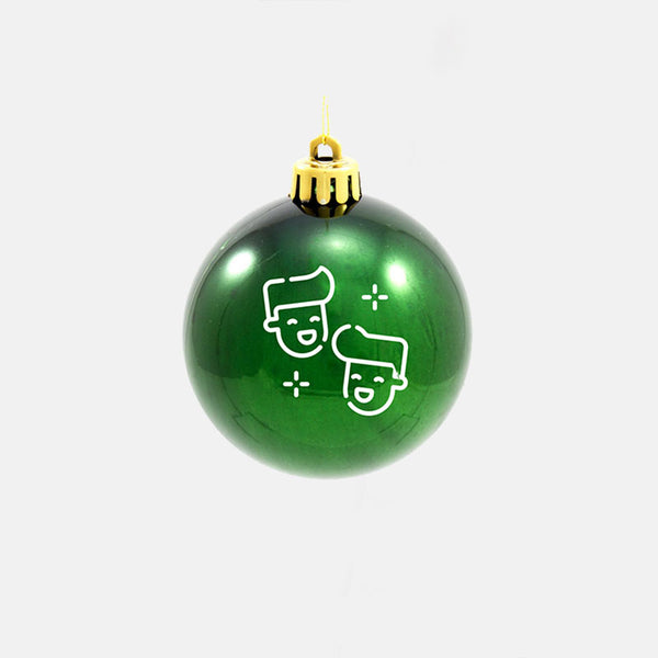 GUYS GREEN DUDES ORNAMENT