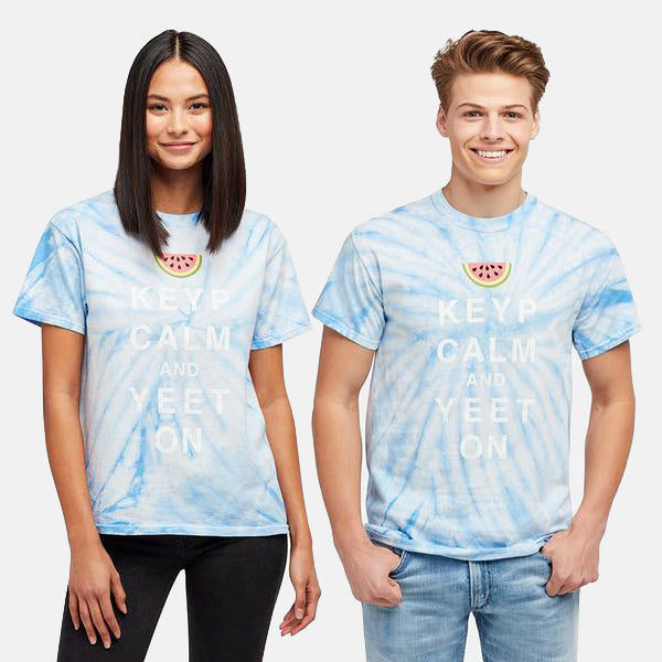 KEYP CALM WATERMELON TIE DYE TEE