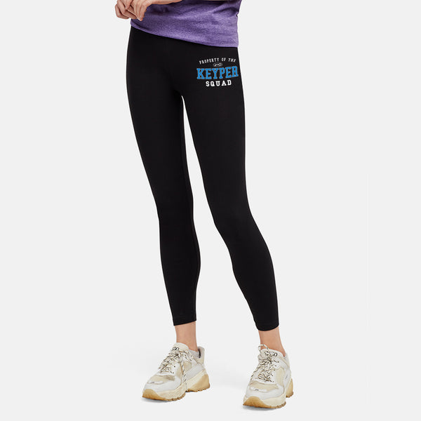 GIRLS KS PROPERTY BLACK LEGGINGS