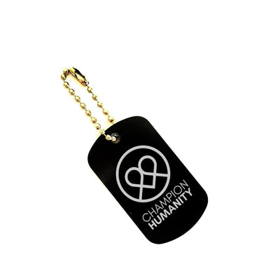 CH line heart Keychain