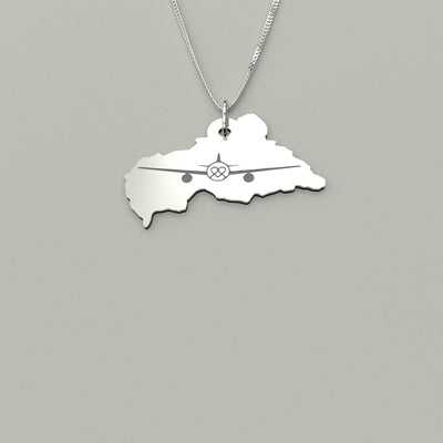 Airlift CAR Map Pendant