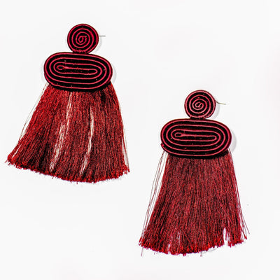Rwandan Woven Earrings