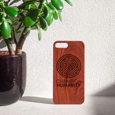 CH classic heart iPhone case