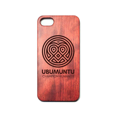 Ubumuntu classic heart iPhone case
