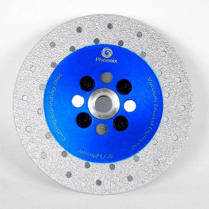 Raizi 4/4.5/5 Inch Vacuum Brazed Diamond Grinding Cutting Disc