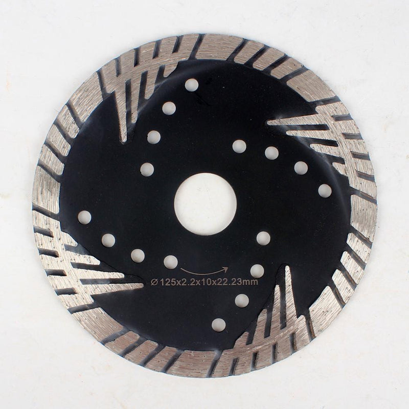 Raizi 5, 6 Inch Turbo Side Protection Diamond Granite Cutting blade