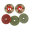 5-step-snail-lock-polishing-pads-system-for-edge-polishing-machines