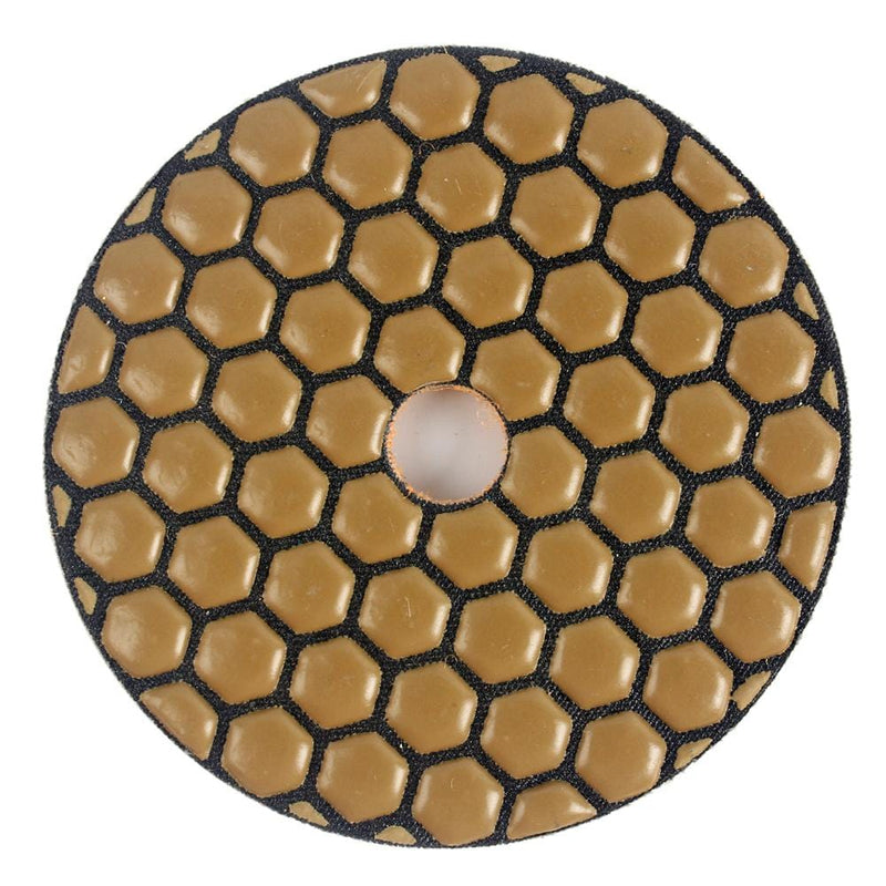 Raizi 5 Step Diamond Granite Polishing Pad Kit | Dry Polishing Pads