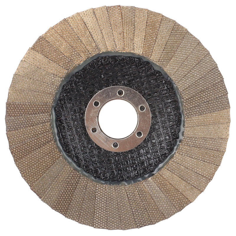 "Raizi 4"" 5"" electroplated diamond flap grinding wheel disc for concrete stone"