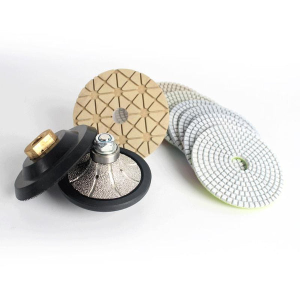 Demi-Bullnose-(B25)-Wet Polishing-Pads