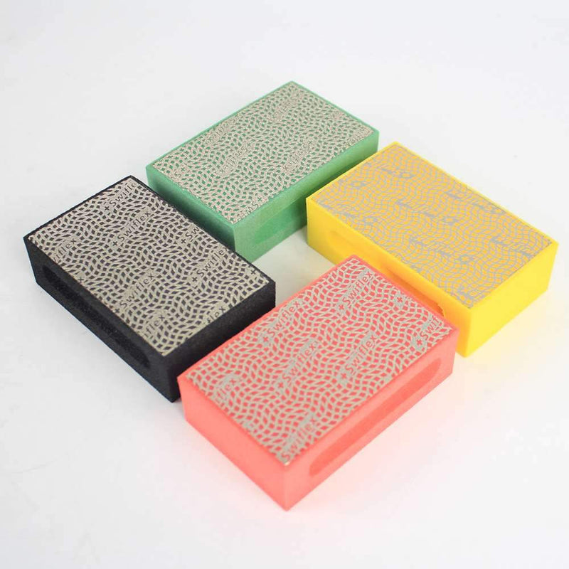 Raizi 55*90mm Electroplated Diamond Hand Grinding Polishing Pads