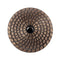 "Raizi 4"" metal bond sintered diamond grinding wheel/disc with adapter Stone Cup Wheel Raizi Tool"
