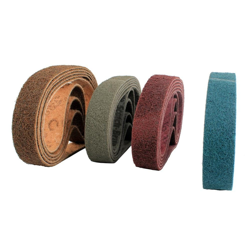 raizi-non-woven-nylon-web-sanding-belt-for-stainless-steel-polisher