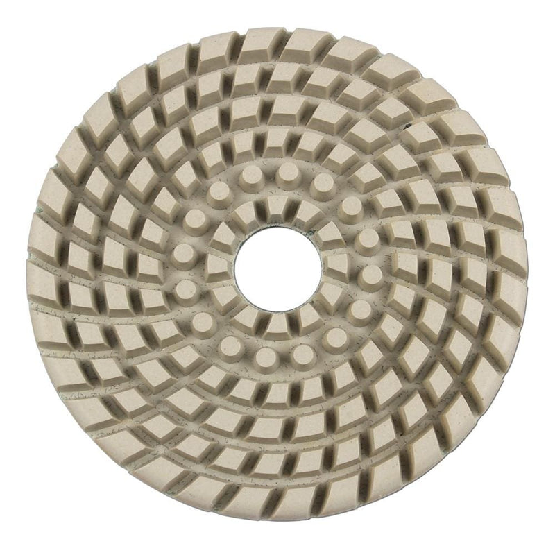 white-polishing-pad