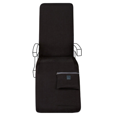 Deep Black Lie Flat Travel Set