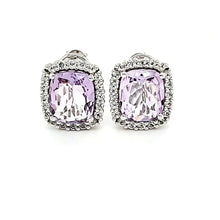 Load image into Gallery viewer, Portrait Studs in Pink Amethyst