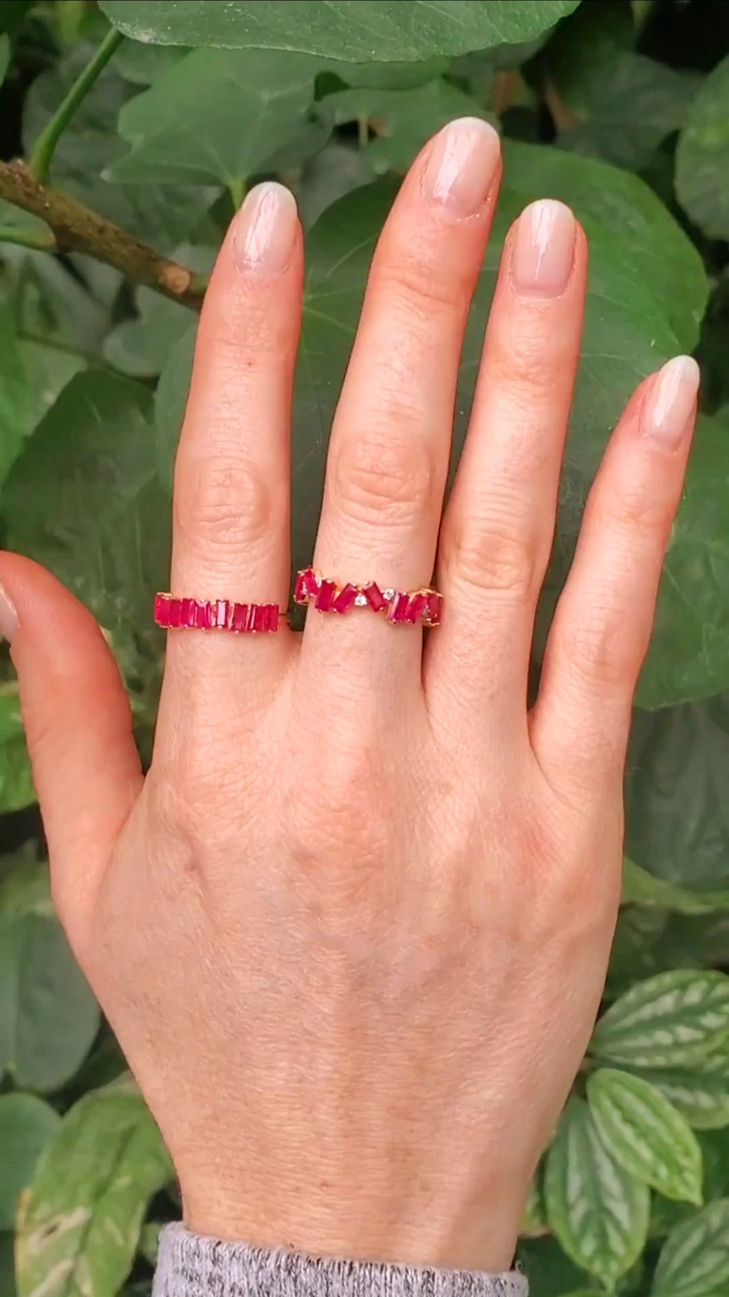 18K Ruby Eternity Ring