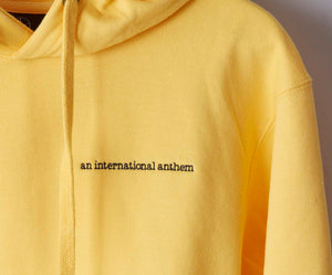script hoodie - An International Anthem