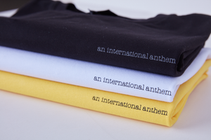 script tee - An International Anthem