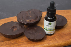 CBD Chocolate Banana Cups