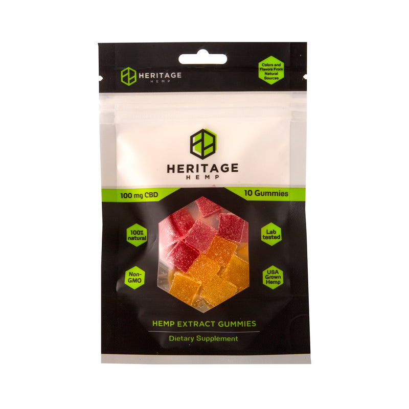 Gummies - Thirty - (25 mg CBD Per Gummy, 750 mg CBD Per Bottle)