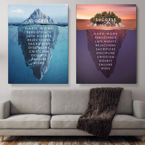 Win All Day - Success Canvas Art