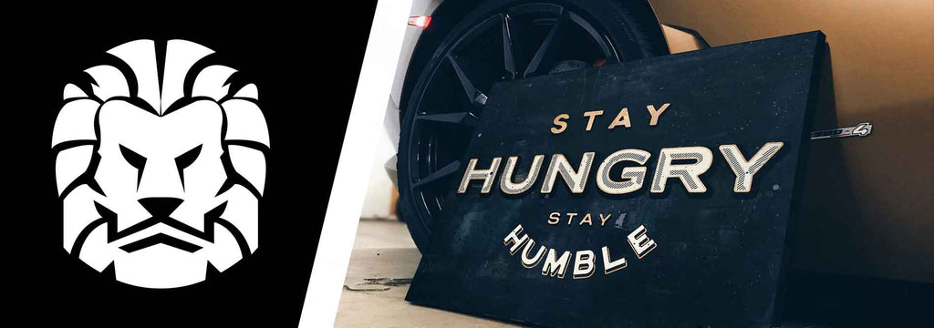 Stay hungry stay humble win all day canvas art