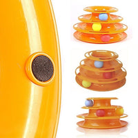 Cat Toys, Intelligence Triple Play Disc Balls - FREE Shipping (www.Happy-Tails-Inc.ca)