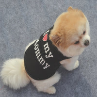 Dog Clothes T-shirt Coat - FREE Shipping (www.Happy-Tails-Inc.ca)