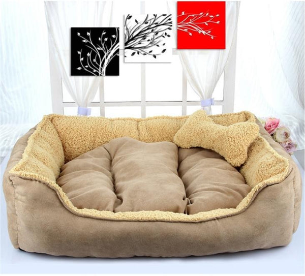Dog Bed, Cat Bed, Cotton - High Quality Pet Bed - FREE Shipping (Happy-Tails-Inc.ca)