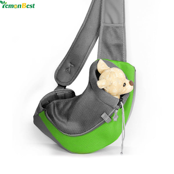 Dog Carrier (front), Sling Bag For 0-15KG - FREE Shipping (Happy-Tails-Inc.ca)