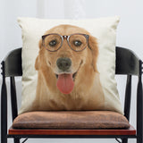 Dog Throw Pillow Case/Cover (Free Shipping)