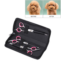 Dog Grooming Scissors Kit, Stainless Steel - FREE Shipping (Happy-Tails-Inc.ca)
