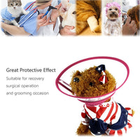 Dog, Cat Collar, Cone Recovery Adjustable - Free Shipping