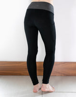 Black High Waisted Pocket Leggings