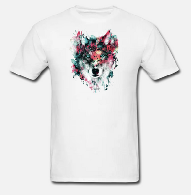 Simple Wolf T-shirt