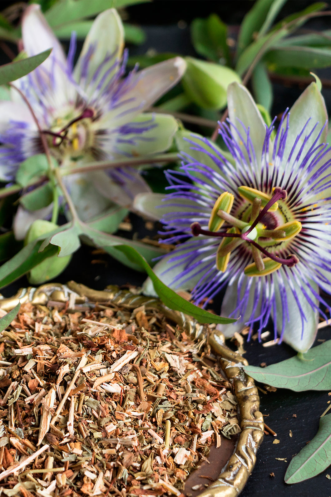 Oregon's Wild Harvest Non-GMO, Organic Passionflower Tops Cut-and-Sift