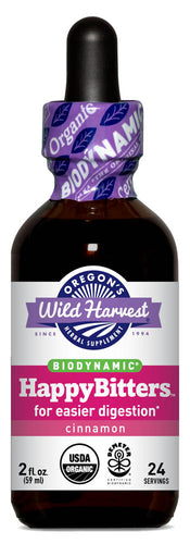 HappyBitters™, Biodynamic Herbal Tonic