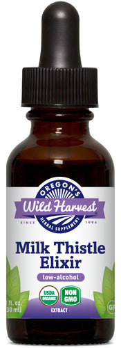 Milk Thistle (low-alcohol), Organic Herbal Elixir
