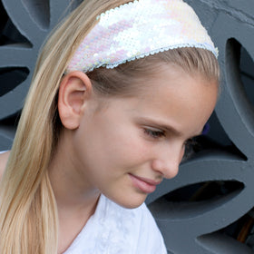 glitter sequin headband