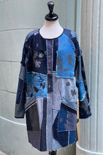 Load image into Gallery viewer, Juno Coat Reversible Patchwork - Medium