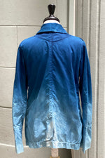 Load image into Gallery viewer, Riding Jacket Ombre Indigo Dyed - XSmall