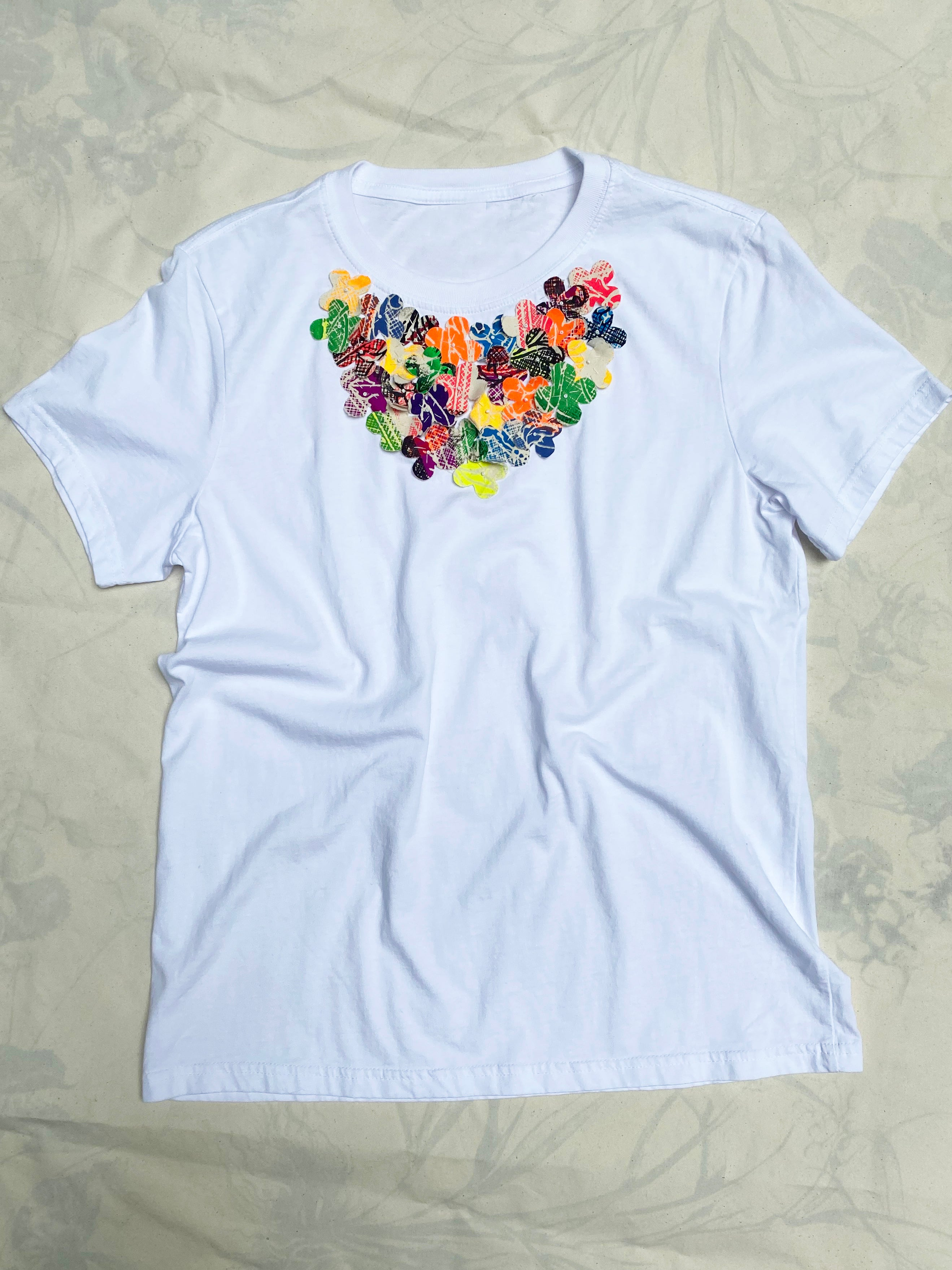 Flower Tee #2 - Womens Medium