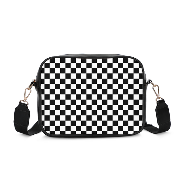 Checkerboard Crossbody Bag