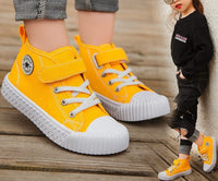Children Canvas Shoes Boys Sneakers Girls Tennis Shoes Kids Footwear Toddler Autumn Spring Chaussure Zapato Casual SandQ baby