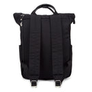 Canary Wharf Backpack - Black with Black