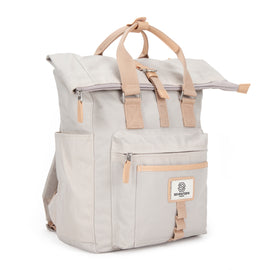 Canary Wharf Backpack - Cream
