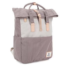 Soho Rolltop Backpack Grey & Cream